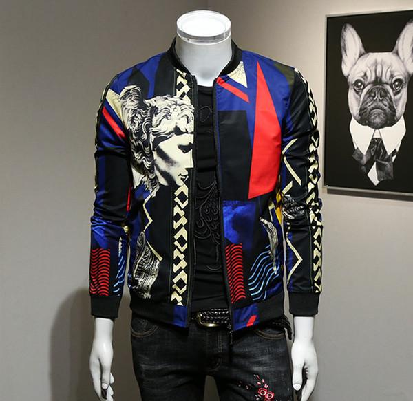 Новая модная мужская куртка на весну 2019 года Мужская куртка на Европейской станции