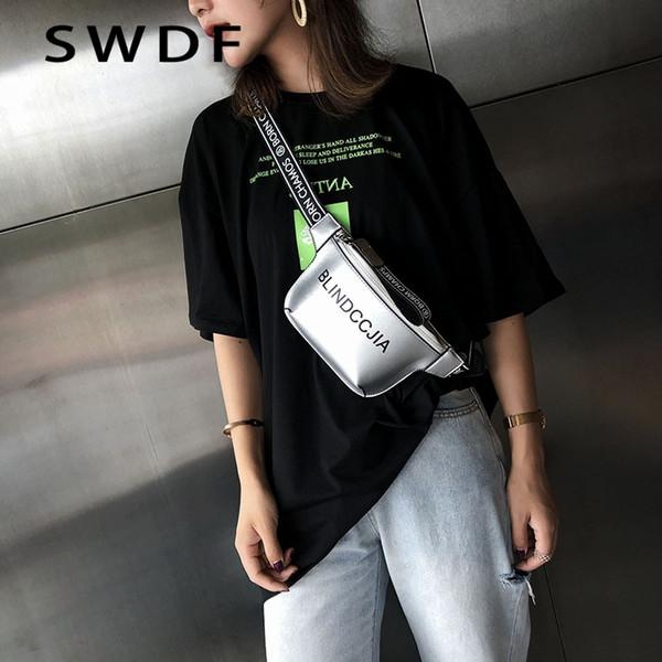 dd5627916 SWDF 2019 Nuevo Bolso Mensajero de Las Mujeres de LA PU de Cuero de Color  Sólido