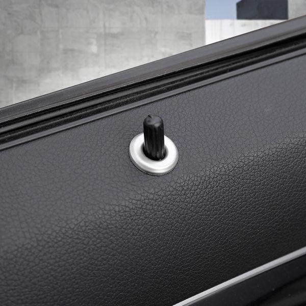 Voiture de coiffure boulon de levage de verrouillage de porte Pin Pins couvercle autocollants Habillage pour Mercedes Benz Classe C W204 C180 C200 2009-2014 Auto Accessorie