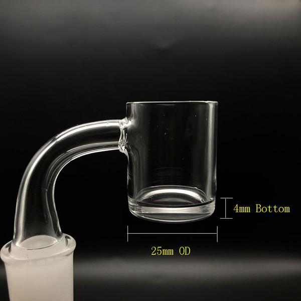 Fabricantes de vidro 4mm de Fundo Grosso Quartz Banger Nails 10mm 14mm 18mm Masculino Feminino XL Bangers De Quartzo Prego Para Bongos de Vidro Dab Rigs Tubos