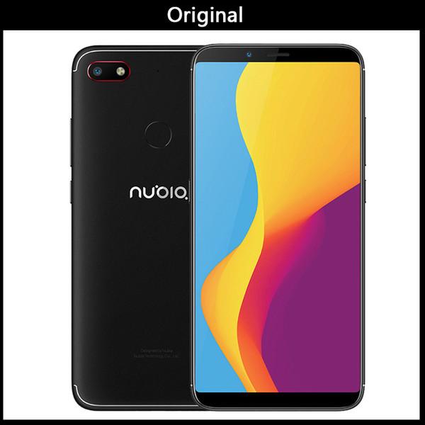 "Global ZTE Nubia V18 UI 5.1 Mobile Phone 4GB+64GB 6.01""Snapdragon 625 Octa Core 18:9Full Screen Face ID 4000mAh 13MP Smartphone"