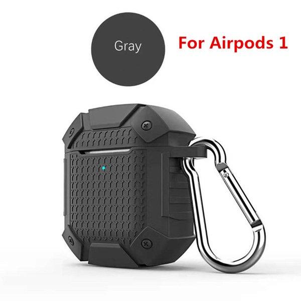 Gray For airpods 1 (Without Light Hole)