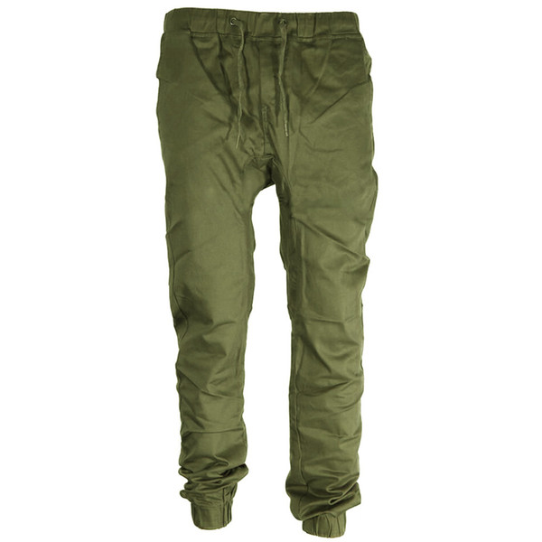 Casual Trousers Slim Fit Elastic Men Twill Jogger Pants Men Outdoor Pants Clothes