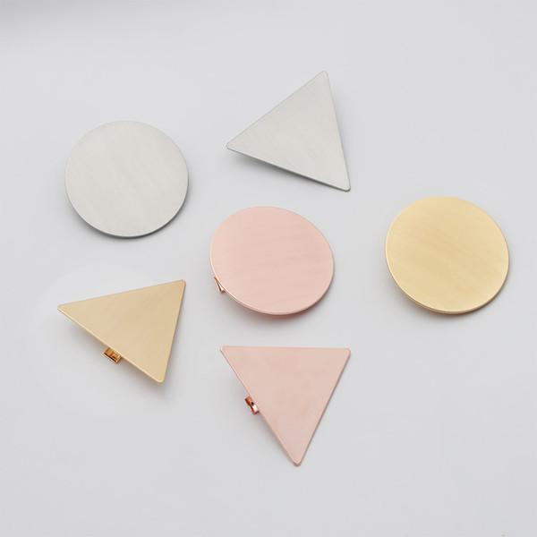 Geometric Bun Maker Hair Accessories Metal Modern Stylish Hair Claw Clips Barrette Girls Ladies Styling Accessories