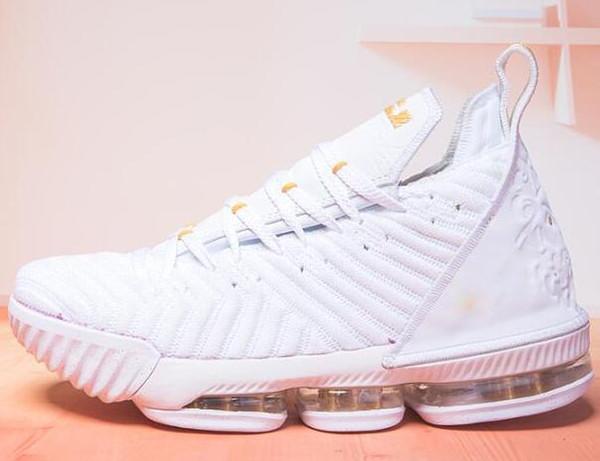 16 Zapatillas de baloncesto para hombre Negro rojo James 16 XVI Legit Zapatillas de deporte baratas Diseñador deportivo Outlet 07