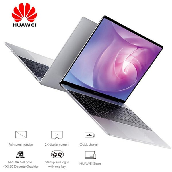 "HUAWEI WRT-W19B MateBook 13.0"" Windows 10 Home Version Intel Core i5-8265U Quad Core 1.6GHz 8GB RAM 512GB SSD Fingerprint Sensor"