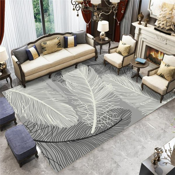 3D Carpets Living Room For The Modern Abstract Nordic Geometric Bedroom  Area Rugs Mat Washing Machine Artificial Fur Coral Rug Tuftex Carpet Shaw  ...