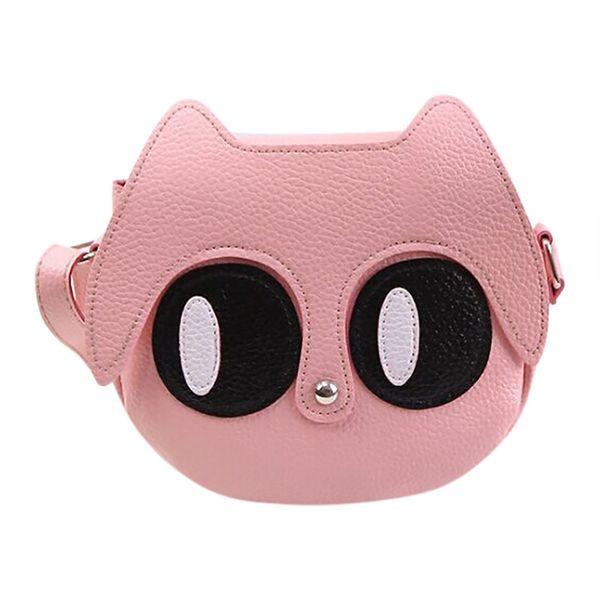 Women Cartoon Big Eyes Phone Bag Portable Single-shoulder Children Messenger Bag Mulit Style New Trend British Fashion Canta YL4