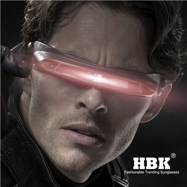 HBK X-man laser Cyclops sunglasses designer Special Memory materials Polarized Travel Shield Cool Sunglasses UV400 PC K40021