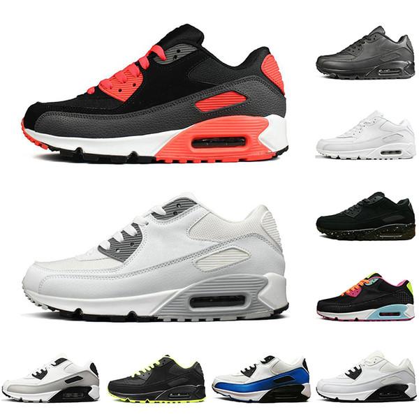 Männer Laufsport Ankunft Off Und Max Frauen Nike Turnschuhen Reagieren Schwarz Großhandel Weißen 90 White Sneaker Air Modedesignerschuhe Atmungsaktiv OPn08wXk