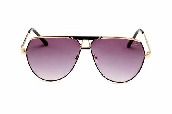 2019 Nouvel homme de haute qualité marque designer luxe femmes lunettes de soleil femmes lunettes de soleil 0113S lunettes de soleil rondes gafas de sol mujer lunette