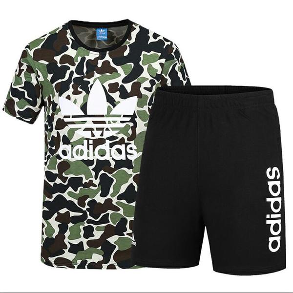 Sommer Marke Trainingsanzug Für Männer Designer Sportbekleidung Mit Buchstaben Mode Anzüge Kurzen Ärmeln Pullover Luxus Jogger Hosen Kleidung L-4XL