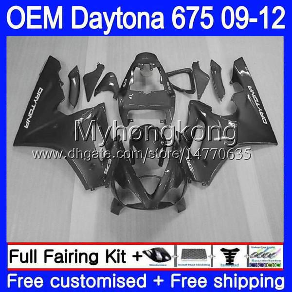 Injection For Triumph Daytona 675 09 10 11 12 Bodywork 323HM.51 Daytona-675 Daytona675 Daytona 675 2009 2010 2011 2012 Fairing Silvery grey