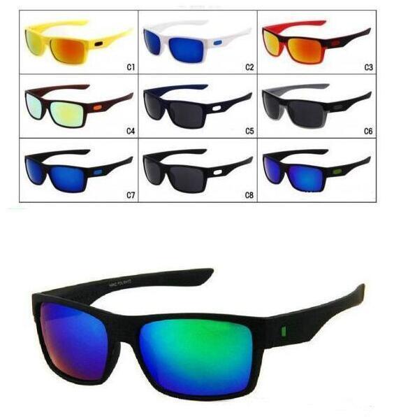 MOQ = 10PCS Occhiali da ciclismo da uomo di moda nuovi di zecca Sport Outdoor Occhiali da sole TWO FACE Occhiali da sole Google mescolano i colori