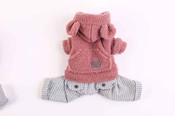 Lovely Chihuahua Pet Clothes Four-legged Clothes Thickened Clothing Teddy Bear The New Autumn And Winter High Quality Clothing