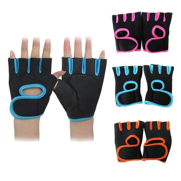 New Multi-colors Gym Gloves Sports Workout Men Women Weightlifting Half Finger Training Gloves Fitness Exercise Cycling Sports Gloves