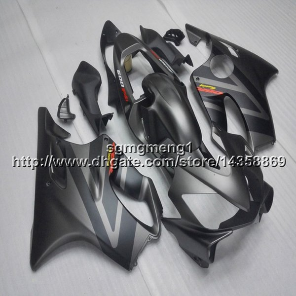 Gifts+Screws Injection mold silvergray motorcycle hull for HONDA CBR600F4i 2001-2003 F4i 01 02 03 ABS Plastic motor Fairing