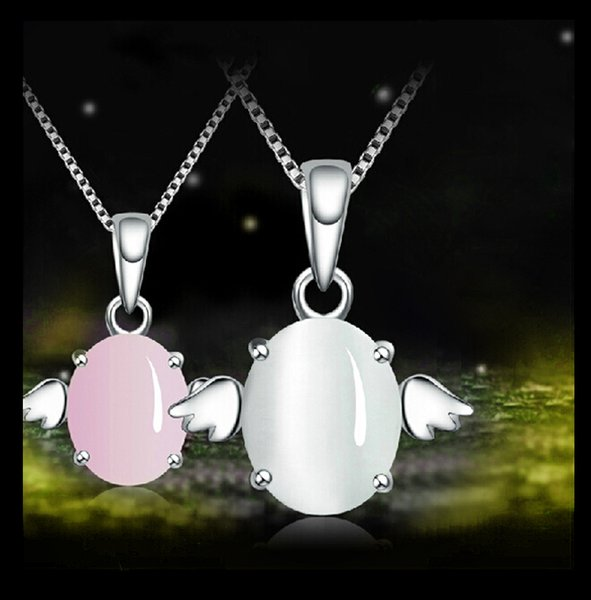 Laoyue Crystal Pendant 925 Silver Necklace