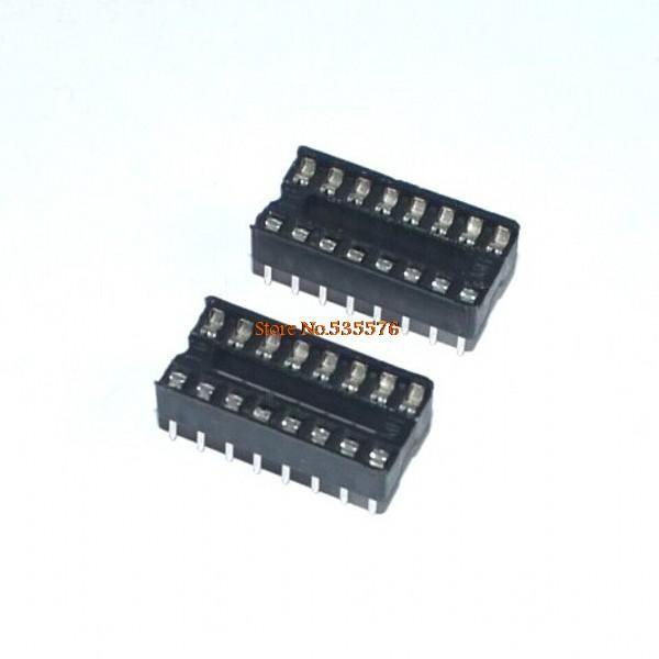 الدوائر المتكاملة IC 16 دبوس DIP IC المقابس