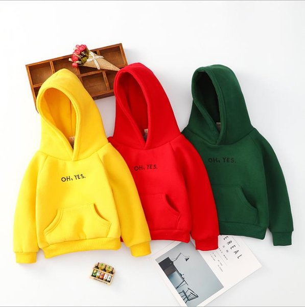 Boys and girls thick sweater sweater baby autumn and winter jacket baby hooded jacket children hoodies 2-10 years