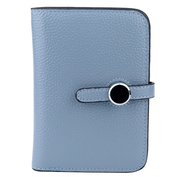 Belle2019 Leather Genuine Ma'am Vertical Section Head Layer Skin Man Wallet Two Fracture