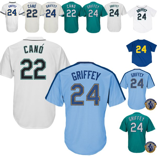 competitive price 26f6a 13c7f 2019 2019 New Seattle Mariners Jerseys 22 Robinson Cano Jerseys Baseball  Jerseys Are On Sale Seattle Mariners From Lks15966, $18.79   DHgate.Com