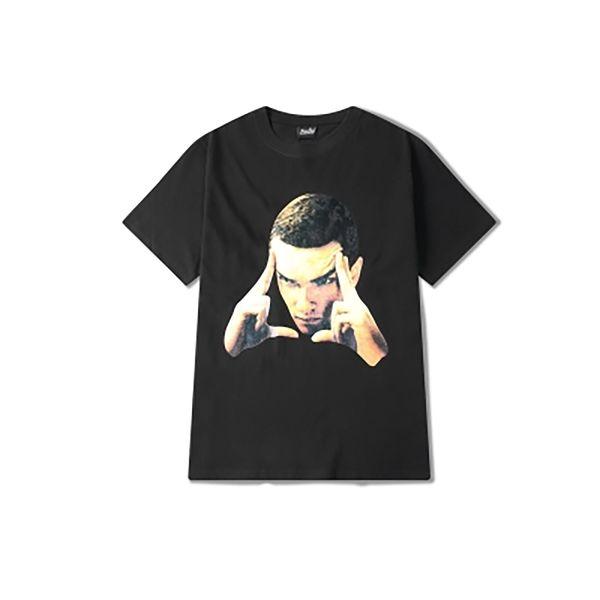 Summer Funny Tshirt Men 2019 Cool Print manga corta Streetwear Hip Hop Vintage camiseta para hombre Harajuku Balck ropa hombres 60dt25