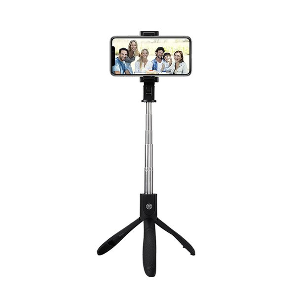 K06 Mini Bluetooth Extendable Selfie Stick Tripod with Wireless Bluetooth Remote and Monopod Stand for Samsung Huawei xiaomi iPhone X