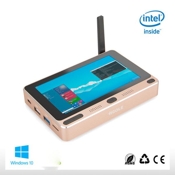 "Business office Portable Pocket Tablet PC Windows 10 Home Intel Z8300 5"" Mini PC 4GB RAM 64GB ROM USB WIFI BOX HDMI"