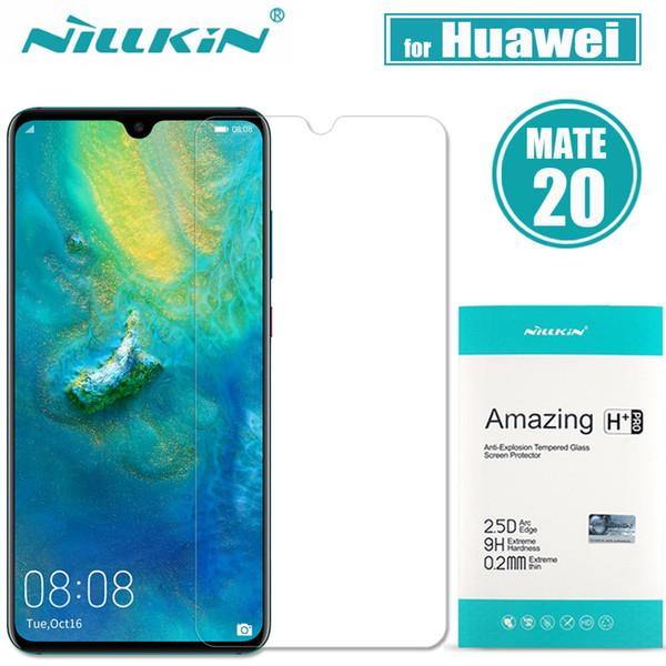 Huawei Mate 20 için Nilkin Temperli Cam Ekran Koruyucu Nillkin 9 H Huawei Mate için Harika H + Pro Clear Cam Filmi 20 X