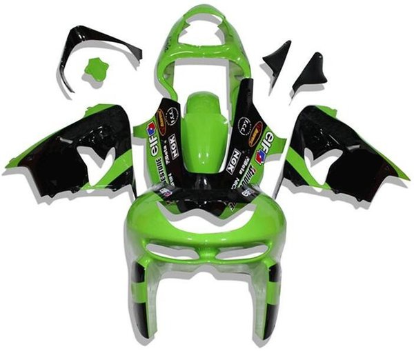 New ABS bike fairings kit for Ninja Kawasaki ZX9R 1998 1999 fairing motorcycle parts ZX-9R 98 ZX 9R 99 Custom cool elf black green
