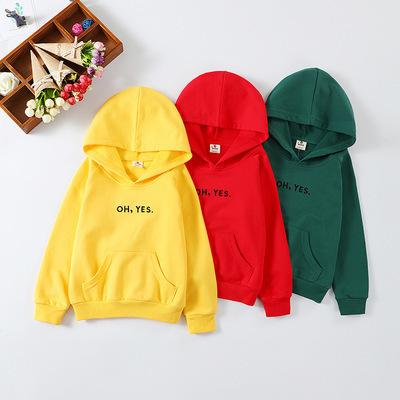 European Style Girls Jackets Solid Girls Coat Fashion Boys Coat Children Clothes Winter Autumn Hooded 2019 Kids Clothing