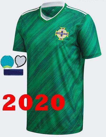 2020 nach Hause grün 3 Patch