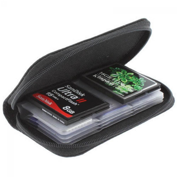 2018 Il più recente Hot Memory Card Storage Carrying Pouch Case Holder Wallet per SD SDHC MMC MicroSD Mini Storage Card
