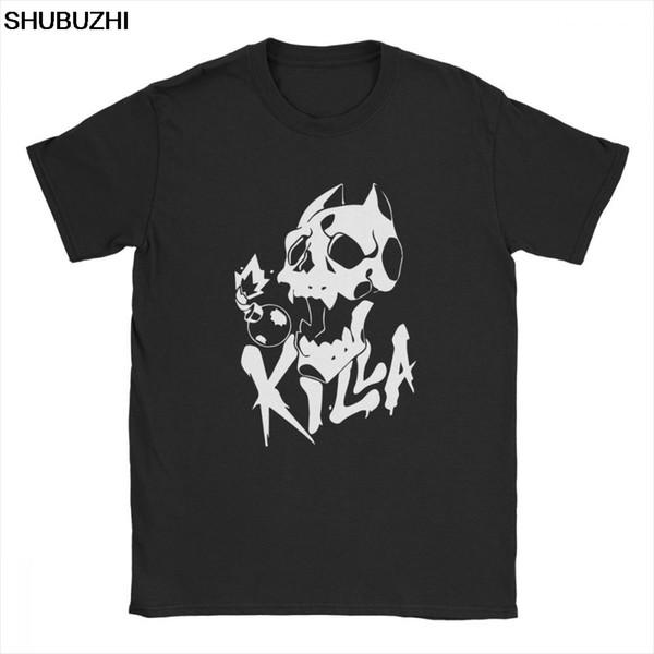 Männer-T-Shirt Mörder kreative kurze Hülse Jojos seltsame Abenteuer-T-Shirts O Ansatz Kleidung aus 100% Baumwolle-Qualitäts-T-Shirts