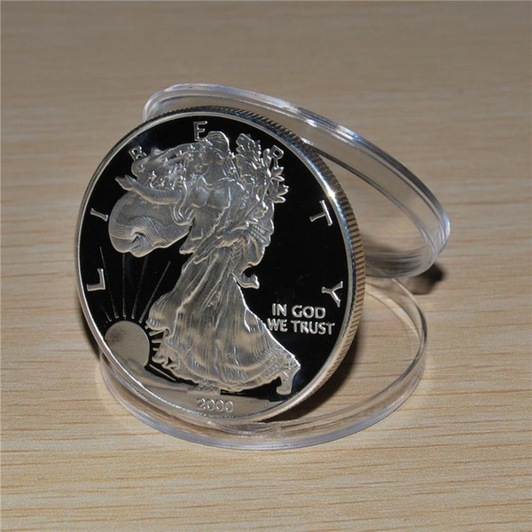 best selling 2000 American Silver Eagle*NEW* 1troy oz .999 Bullion Silver Round coin American silver eagle 1OZ