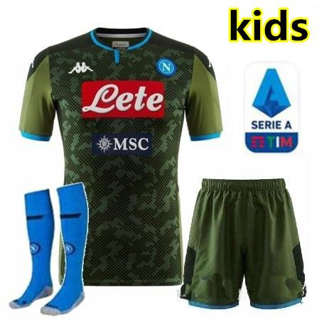 3 19/20 kids kit + Serie A Patch