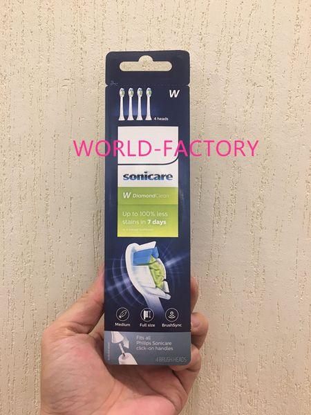 2019 neue Heiße verkauf Zahnbürstenköpfe Pro Ergebnisse Standard 4 bürstenköpfe HX6064-65 neue Standard zahnbürstenkopf weiß