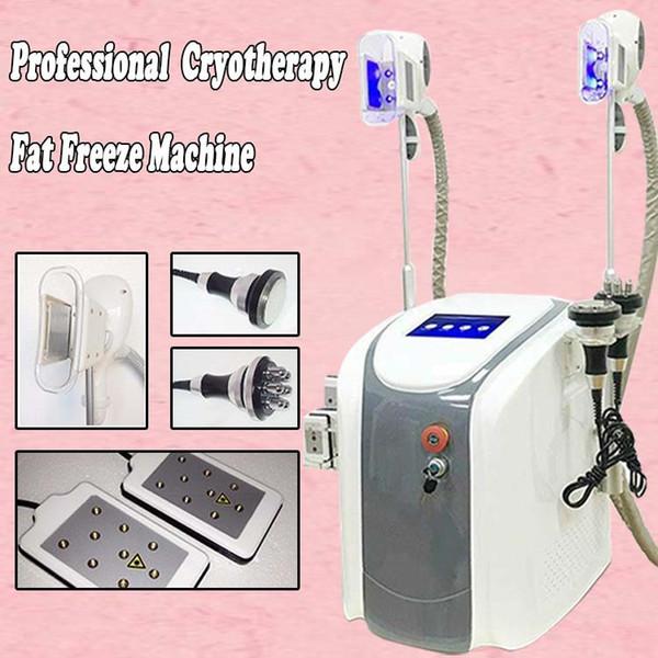 Cryolipolysis fat freeze slimming machine cavitation weight loss lipolaser Ultrasound RF face lifting equipment slimming machine