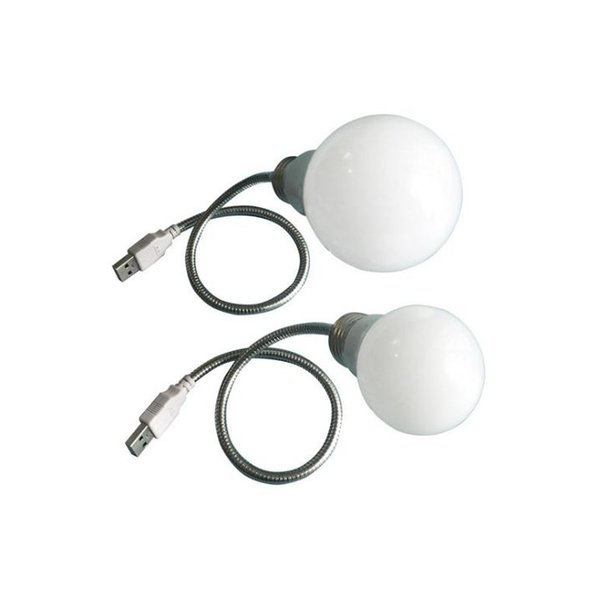 LED metal hose bulb lamp charging treasure laptop and other mobile power saving lamps