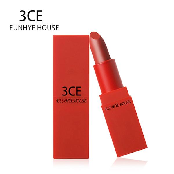 3CE Make up batom Moisturizering Matte Lipstick Set Semi lipstick Water Resistant Lip Makeup Lipstick 5 lip tint Color Cosmetic