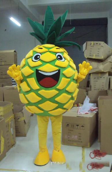 2018 yeni İndirim fabrika satış ananas meyve yepyeni Maskot Kostüm Komple Kıyafet fantezi elbise Maskot Kostüm Komple Kıyafet Kostüm
