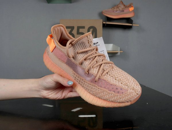 2019 New Arrival 350 V2 True Form Trfrm Clay Hyperspace Kanye West Men Women Running Shoes Authentic Sneakers