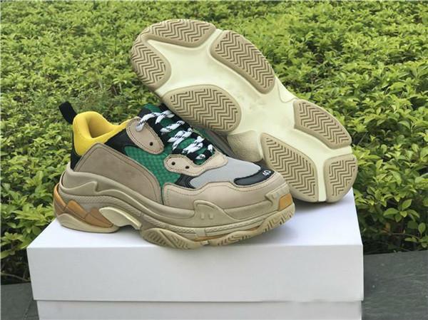 Alta qualità Paris Triple-S Designer Luxury Shoes Sneakers basse Triple S Scarpe casual da uomo e da donna Scarpe taglia 36-45 x5