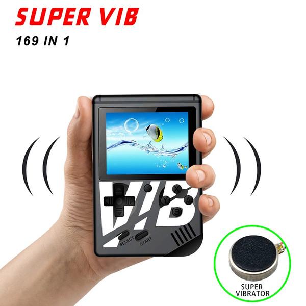 Ultima console di gioco SUPER VIB portatile retrò Gamepad portatile da 3,0 pollici Supporto 169 giochi Player SUPER VIB