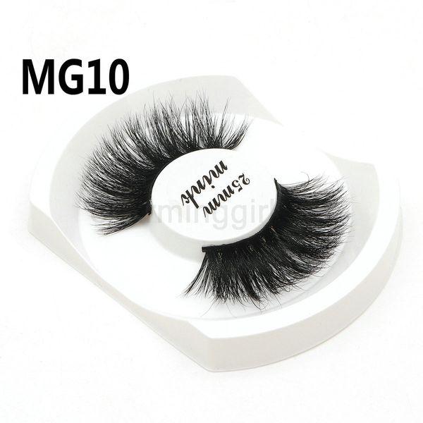 NEW Arrival women's Single pair false eyelash 7 types 25mm 3D natural MG02 MG03 MG04 MG05 MG10 MG15 MG16 Long thick false eyelashes handmade
