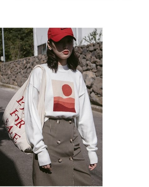95bc54607a 2018 Simplee mulheres camisola torção meia gola alta manga longa moda  pulôver feminino 2018 outono inverno jumpers