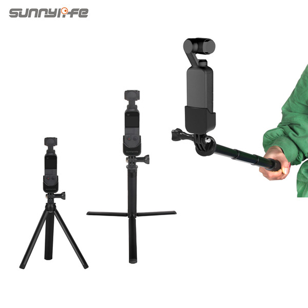 Sunnylife Adapter Tripod Extensão Rod para DJI OSMO POCKET
