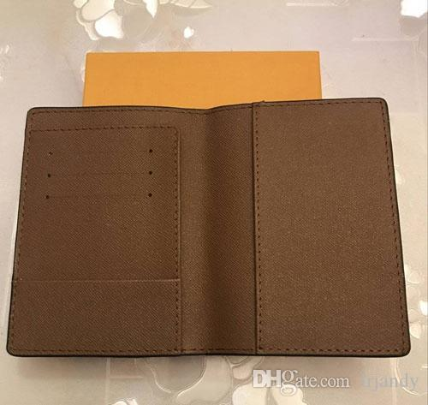 top popular luxury designer brand women wallets leather passport cover brand credt card holder men business passport holder wallet carteira masculina 2021