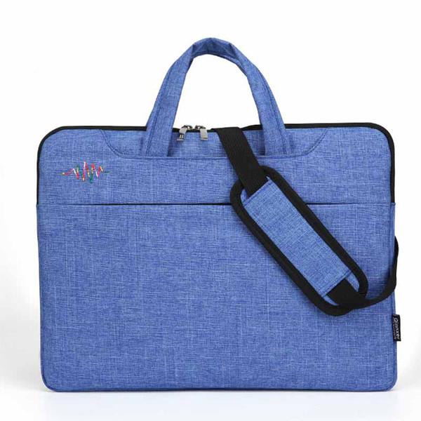 Laptop Shoulder Bag Compatible 13-15.6 Inch MacBook Pro, Ultrabook Notebook, Polyester Messenger Briefcase Carrying Handbag Sleeve